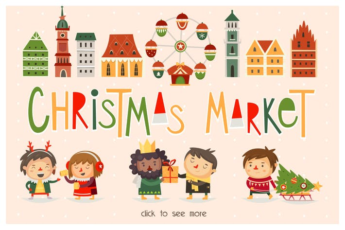 Cover Image For Christmas market