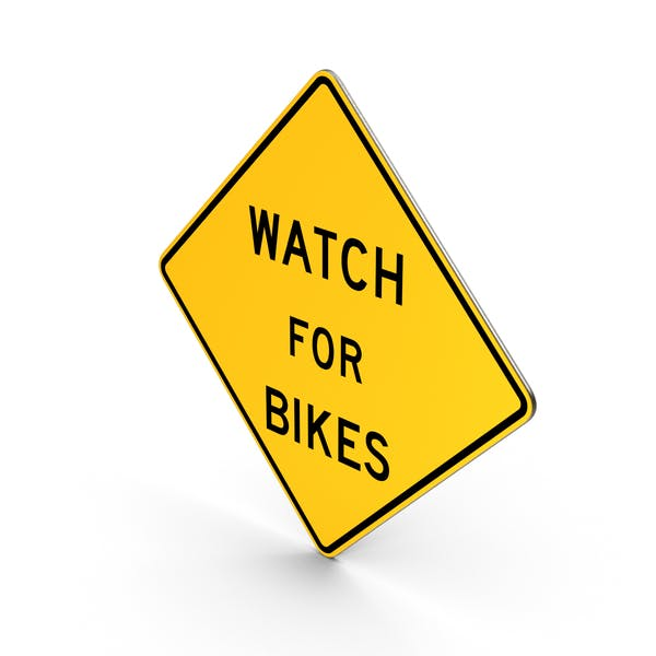 Watch For Bikes Maryland Road Sign