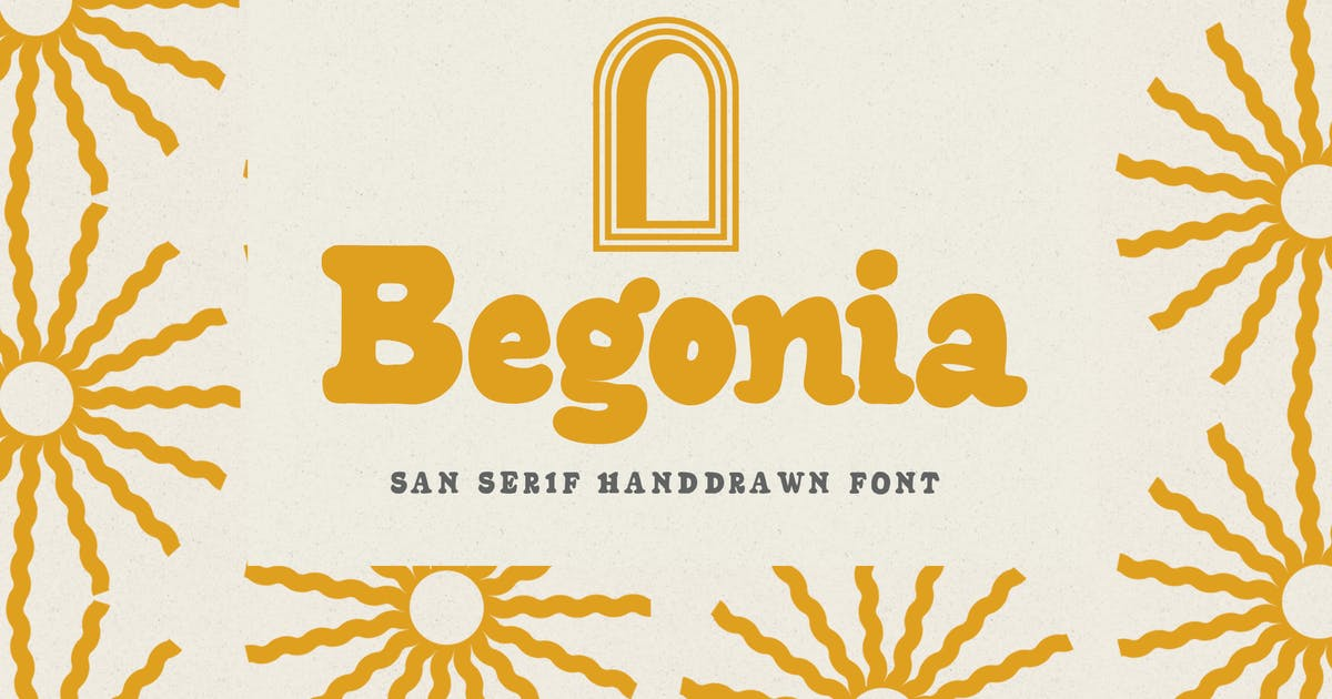 Download Begonia - Sans Serif by Flavortype
