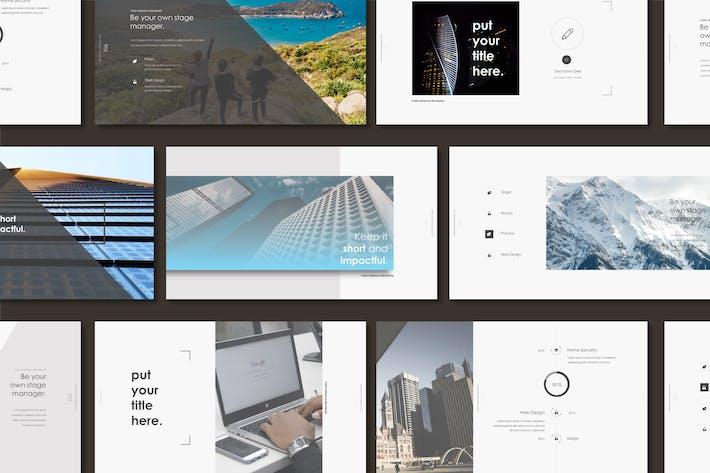 Thumbnail for KNTL – Clean & Mnml Google Slides