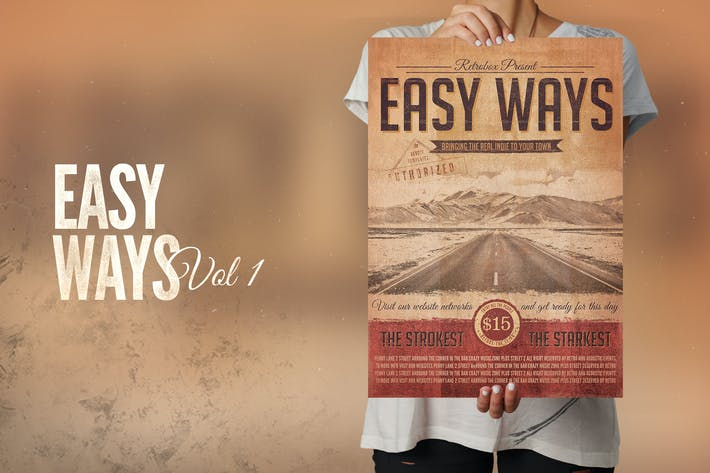 Thumbnail for Easy Ways Flyer Poster