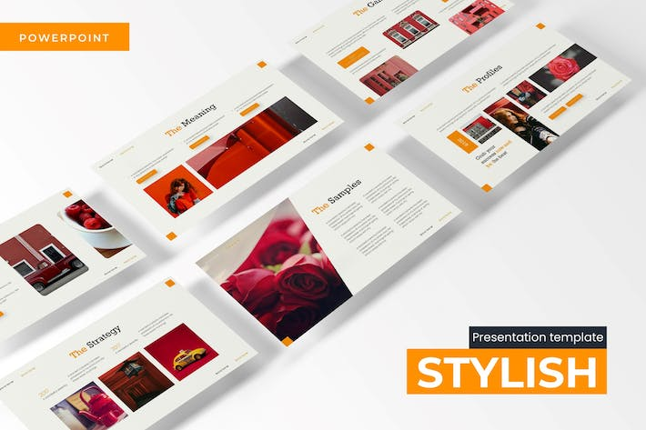 Thumbnail for Stylish - Powerpoint Template