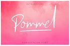 Pommel - Handstylish Font