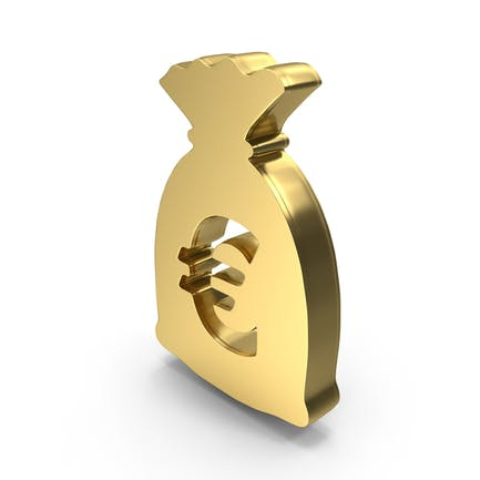 Money Euro Bag