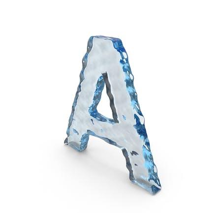 Wasserbuchstabe A