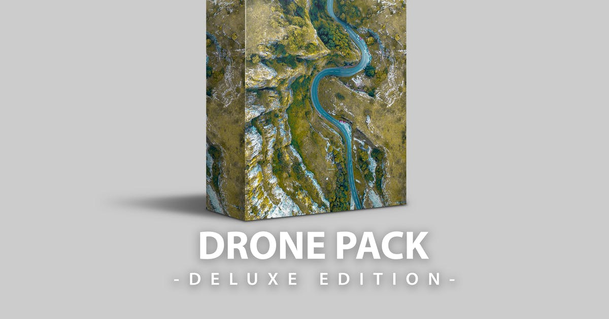 Download Drone pack | Deluxe edition for mobile and desktop by LightPreset