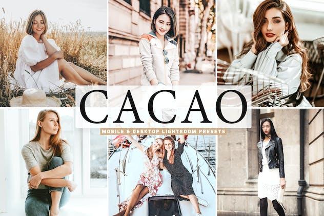 Cacao Mobile & Desktop Lightroom Presets - product preview 5