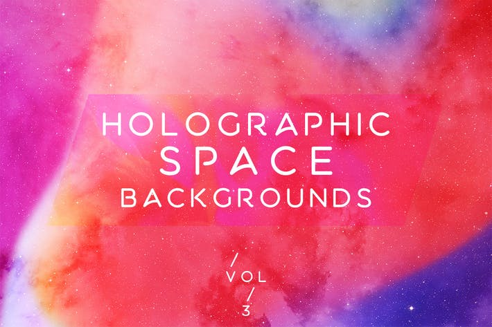 Cover Image For Holographic Space Backgrounds Vol.3