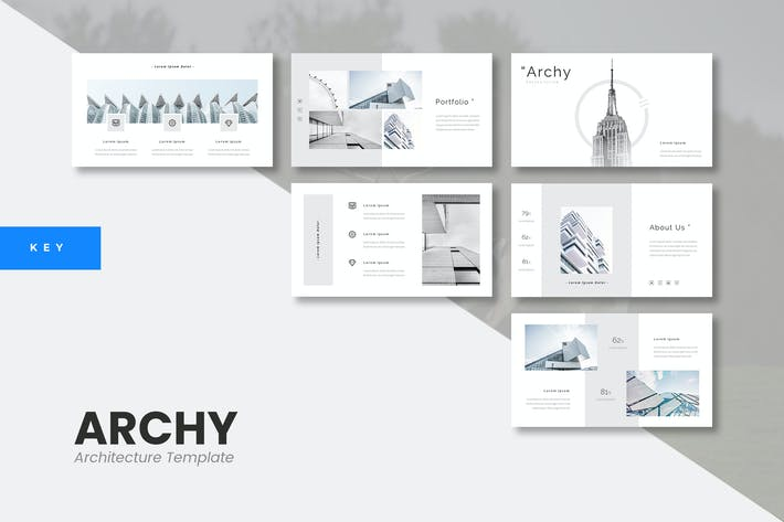 Thumbnail for Archy - Architecture Keynote Template