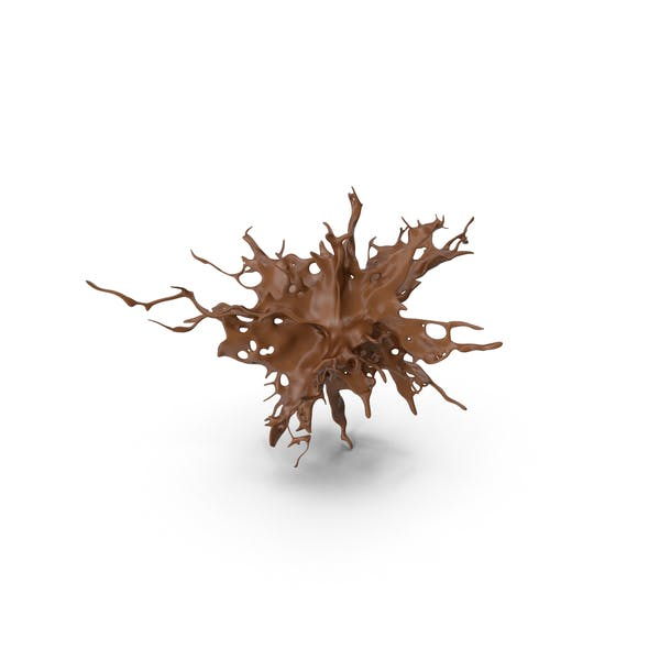 Schokoladen-Splash-Effekt