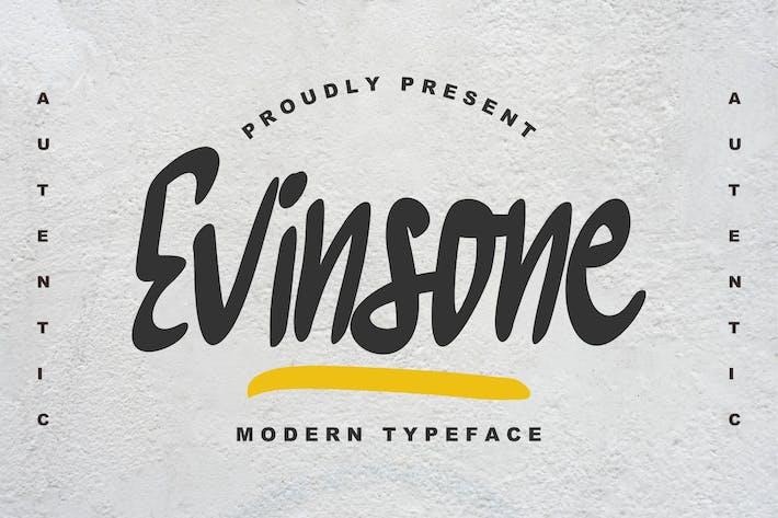 Thumbnail for Evinsone Modern Typeface