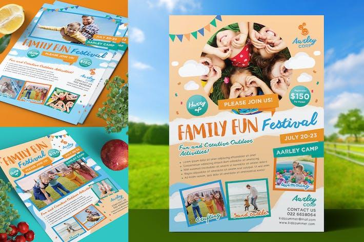 Thumbnail for Fête Familiale Flyer