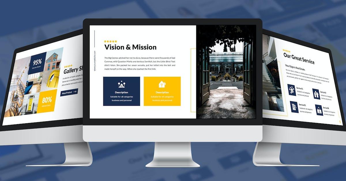 Download Mansion - Hospitality Google Slides Template by SlideFactory