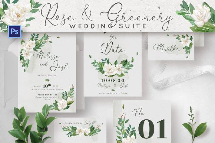 Thumbnail for Rose & Greenery Wedding Suite