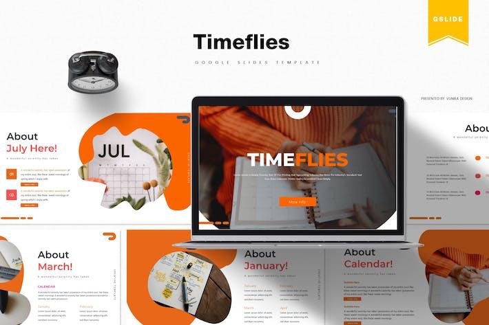 Thumbnail for Timeflies | Google Slides Template