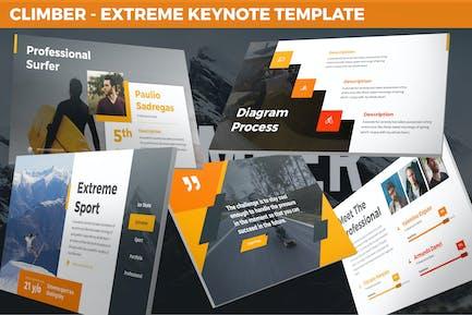 Climber - Extreme Keynote Template