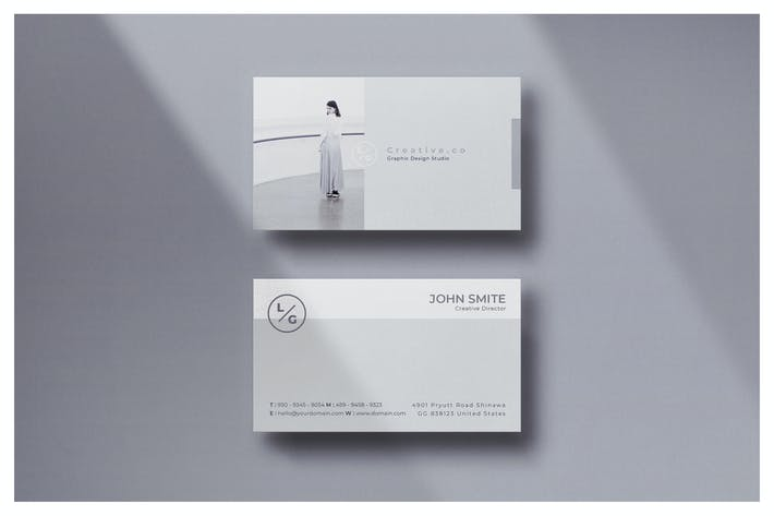 Thumbnail for Minimal Business Card - Vol.18
