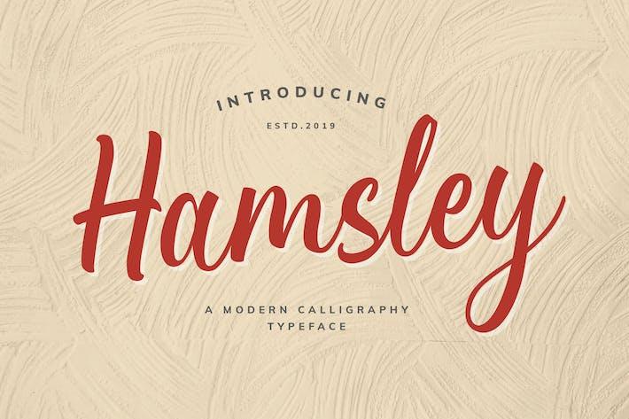 Thumbnail for Hamsley Script!
