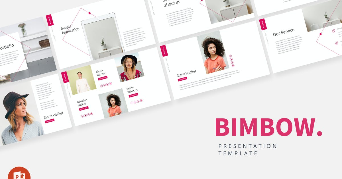 Download Bimbow - Powerpoint Presentation Template by alexacrib
