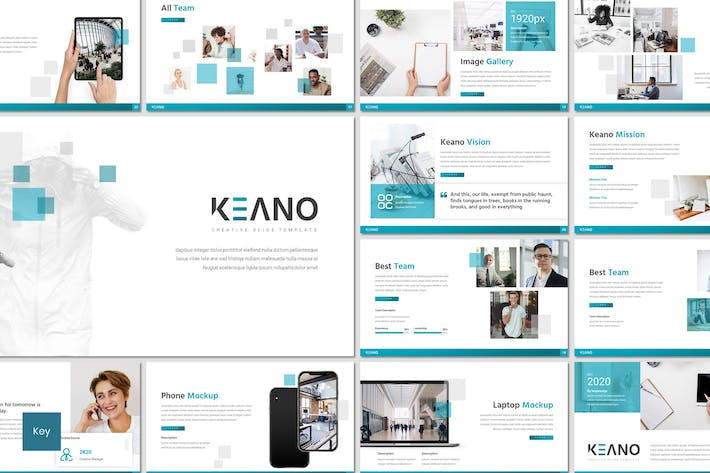 Thumbnail for Keano - Business Keynote Template