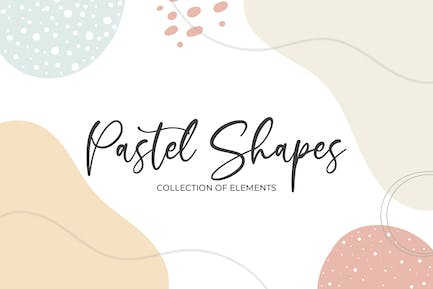 Pastel Shapes and Elements