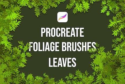 Procreate Foliage Brushes - Leaves