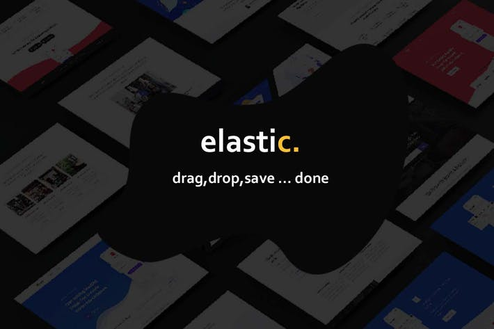 Thumbnail for Elastik Templates Library