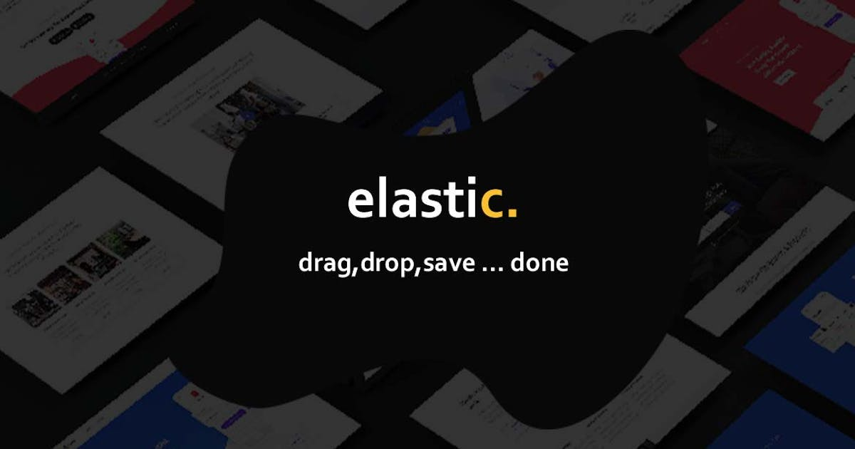 Download Elastik Templates Library by codenpixel