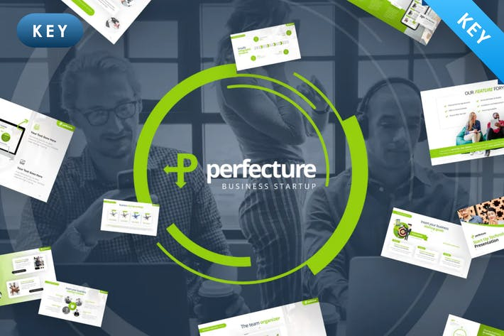 Thumbnail for Perfecture — Startup Business Keynote Vorlage