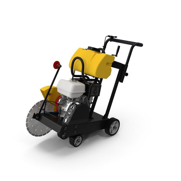 Concrete Saw with Engine