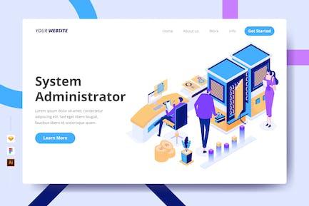 Systemadministrator — Zielseite