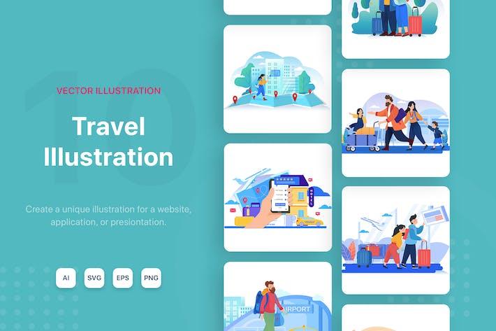 Thumbnail for ReiseIllustrationen
