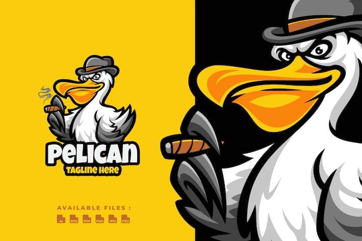 Thumbnail for Pelican Cartoon Logo