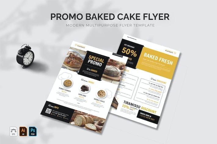 Promo Baked Cake Flyer