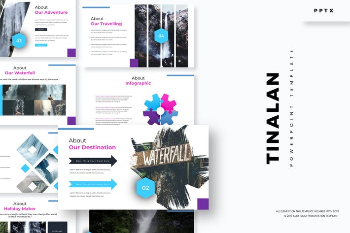 Thumbnail for Tinalan - Powerpoint Template