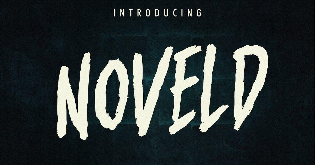 Download Noveld Horror Brush Font by Holismjd