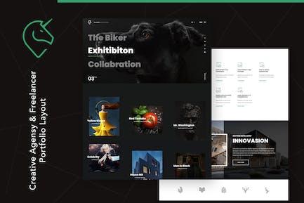 Unicord | Porfolio creativo para freelancers