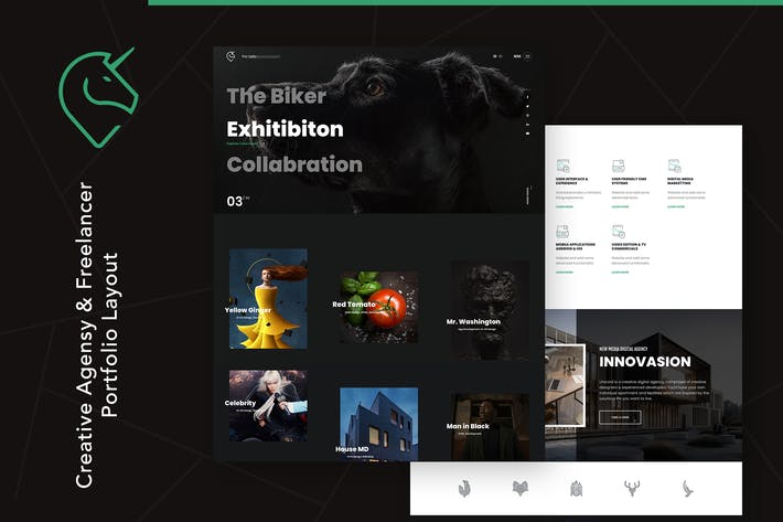 Unicord | Creative Portfolio for Freelancers