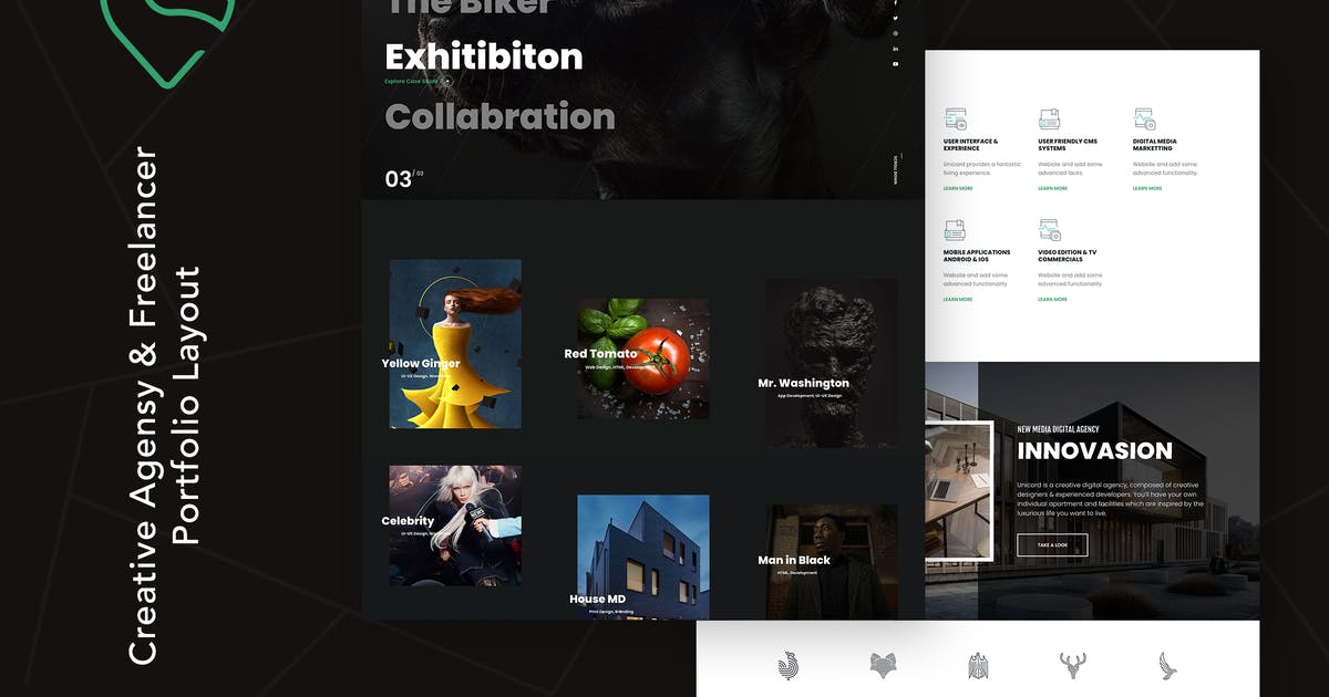 Download Unicord | Creative Portfolio for Freelancers by themezinho