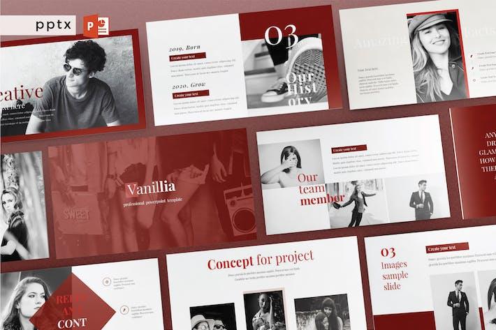 Thumbnail for VANILLIA - Multipurpose Powerpoint  V210