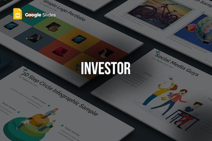 Thumbnail for Investor - Google Slides Template