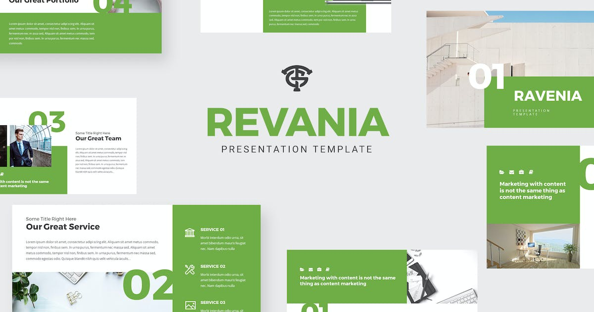 Download Revenia Marketing - Powerpoint by graptailtype