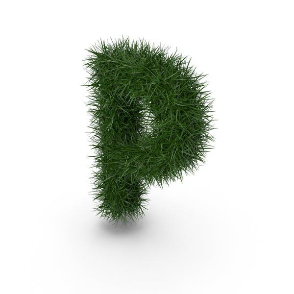 Трава буква P