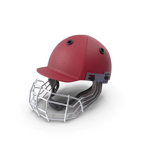 Cricket Helmet Red