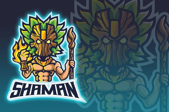 Tiki Shaman Esport Logo