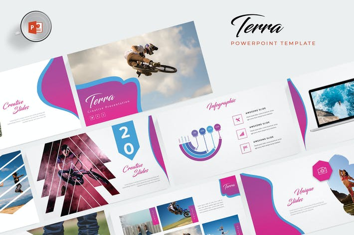 Thumbnail for Terra Powerpoint Template