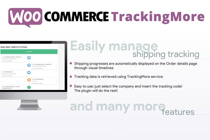 Thumbnail for WooCommerce TrackingMore