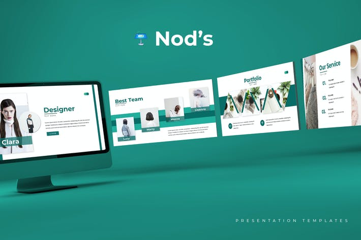 Nod's - Keynote Template