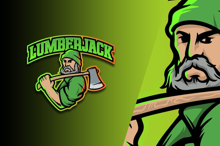 Lumber Jack Esport Logo Vol. 5