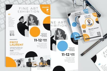 Fine Art Exhibition - invitation